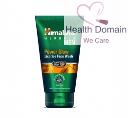 Power Glow Mens Face Wash By Himalaya Herbals