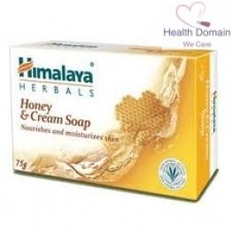 Cream & Honey Nourishing Soap By Himalaya Herbals