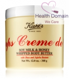 Large Creme De Corps Soy Milk & Honey Whipped Body Butter (340g)