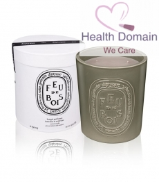 Large Feu De Bois Scented Candle Indoor And Outdoor Edition