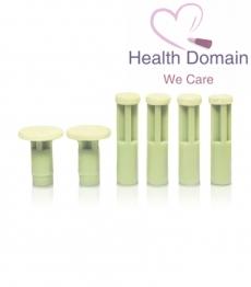 Green Replacement Discs (medium)