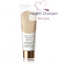 Silky Bronze Cellular Protective Cream For Face Spf15