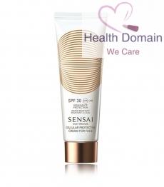 Silky Bronze Cellular Protective Cream For Face Spf30