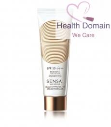 Silky Bronze Cellular Protective Cream For Face Spf50