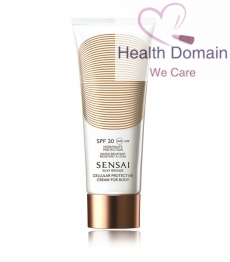 Silky Bronze Cellular Protective Cream For Body Spf30