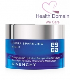 Hydra Sparkling Night Repair Recovery Moisturizing Mask & Cream