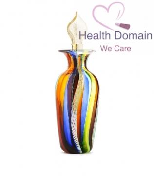 Vaso Bottiglia A Canne Multicolore