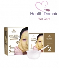 Gold Premium Modeling Mask