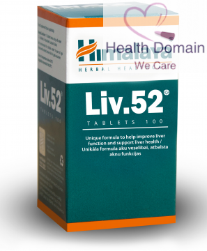 Best Liver Cleanse / Liver Detox Supplement Liv.52 By Himalaya Herbals - 100 Tablets