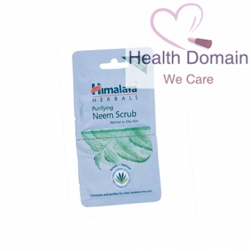 Neem Purifying Scrub Sachets - 2 X 6ml By Himalaya Herbals