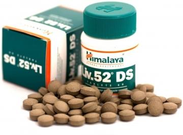 Liv.52 Ds Best Liver Cleanse / Liver Detox Supplement By Himalaya Herbals - 60 Tablets