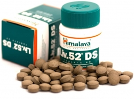 Liv.52 Ds Best Liver Cleanse / Liver Detox Supplement By Himalaya Herbals - 60 Tablets