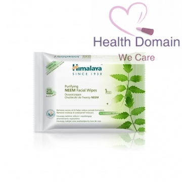 Purifying Neem Facial Wipes (25 Wipes) By Himalaya Herbals