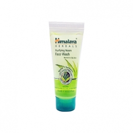 Purifying Neem Face Wash 15ml Travel Tube- A Natural Treatment For Acne And Pimples By Himalaya Herbals