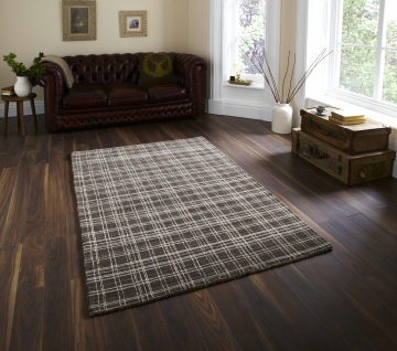 Cambridge Cam 30 Natural Classic Hand Loom Knotted Rug - New Zealand & Argentian Wool Blend