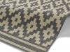 Cottage Ct5581 Anthracite/sand Flatweave Machine Made Rug - 100% Polypropylene