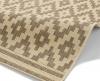 Cottage Ct5581 Natural/brown Flatweave Machine Made Rug - 100% Polypropylene