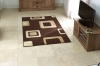 Diamond 2751 Brown Budget Machine Made Rug - 100% Polypropylene