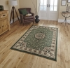 Diamond 4400 Green Budget Machine Made Rug - 100% Polypropylene