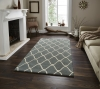 Elements El 65 Blue Modern Hand Tufted Rug - 100% Wool