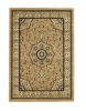 Heritage 4400 Beige Traditional Machine Made Rug - 100% Polypropylene