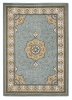 Heritage 4400 Blue Traditional Machine Made Rug - 100% Polypropylene