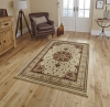 Heritage 4400 Cream/red Traditional Machine Made Rug - 100% Polypropylene