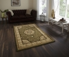 Heritage 4400 Green Traditional Machine Made Rug - 100% Polypropylene