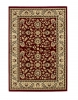Heritage 993 Red Traditional Machine Made Rug - 100% Polypropylene