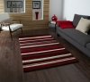 Hong Kong 2022 Red Modern Hand Tufted Rug - 100% Acrylic