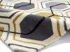 Hong Kong 7526 Grey/yellow Modern Hand Tufted Rug - 100% Acrylic