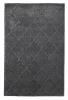 Hong Kong 8583 Charcoal Modern Hand Tufted Rug - 100% Acrylic