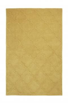 Hong Kong 8583 Yellow Modern Hand Tufted Rug - 100% Acrylic