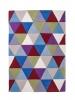Hong Kong Hk6809 Multi Modern Floral Hand Tufted Rug - 100% Acrylic