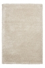 Loft 01810a Beige Shaggy Machine Made Rug - 100% Polypropylene
