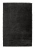 Loft 01810a Black Shaggy Machine Made Rug - 100% Polypropylene