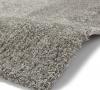 Loft 01810a Silver Shaggy Machine Made Rug - 100% Polypropylene