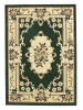 Marrakesh Dark Green Budget Machine Made Rug - 100% Polypropylene