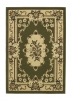 Marrakesh Light Green Budget Machine Made Rug - 100% Polypropylene