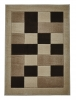 Matrix Jr04 Beige Floral Machine Made Rug - 100% Polypropylene
