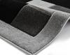 Matrix Jr04 Grey Floral Machine Made Rug - 100% Polypropylene