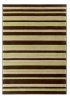 Matrix Mt22 Brown/green Modern Machine Made Rug - 100% Polypropylene