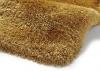 Montana Yellow Shaggy Hand Tufted Rug - 75% Acrylic, 25% Polyester