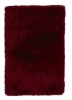 Monte Carlo Red Shaggy Hand Tufted Rug - 60% Acrylic, 40% Viscose
