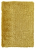 Monte Carlo Yellow Shaggy Hand Tufted Rug - 60% Acrylic, 40% Viscose