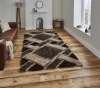 Noble House Nh9716 Beige/brown Shaggy Hand Tufted Rug - 70% Acrylic 30% Polyester