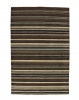 Oxford Ox 10 Natural/multi Modern Hand Loom Knotted Rug - 100% Wool