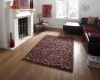 Pebbles Multi Shaggy Hand Knotted Rug - 100% Wool