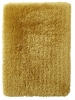 Polar Pl 95 Yellow Shaggy Hand Tufted Rug - 100% Micro Fibre Acrylic