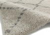 Royal Nomadic 5413 Cream/grey Modern Machine Made Rug - 100% Polypropylene